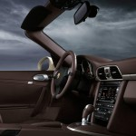 2011 Gold Porsche 911 Carrera 4 Cabriolet Wallpaper Interior
