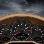 2011 Gold Porsche 911 Carrera 4 Cabriolet Wallpaper Interior Dashboard