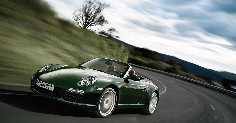 Used Porsche 911 For Sale >> 2011 Green Porsche 911 Carrera S Cabriolet wallpapers