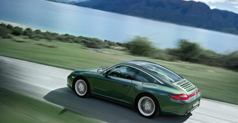 Used Porsche 911 For Sale >> 2011 Green Porsche 911 Targa 4 wallpapers