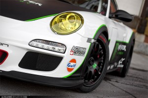 2011 Porsche 911 GT3 RS Monster Front angle view