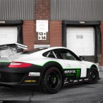 2011 Porsche 911 GT3 RS Monster Rear side angle view