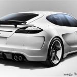 2011 Porsche Panamera Stingray GTR by TopCar Rear angle