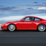 2011 Red Porsche 911 GT3 Wallpaper Side view