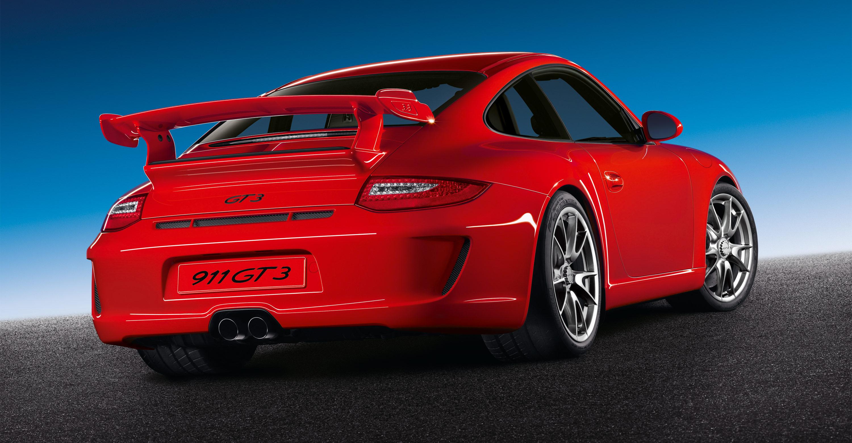2011 Red Porsche 911 Gt3 Wallpapers