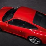 2011 Red Porsche 911 GT3 Wallpaper Side top view