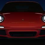 2011 Red Porsche 911 GT3 Wallpaper Front view
