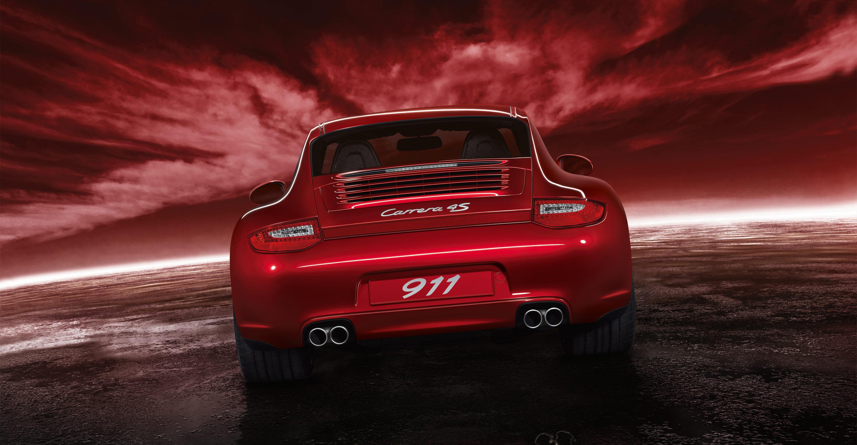 2011 Red Porsche 911 Carrera 4s Wallpapers