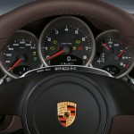 2011 White Porsche 911 Carrera Cabriolet Wallpaper Interior Dashboard