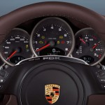 2011 White Porsche 911 Carrera GTS Cabriolet Wallpaper Interior Dashboard