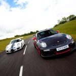 2011 White Porsche 911 GT3 Cup Wallpaper Front view