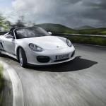 2011 Carrara White Porsche Boxster Spyder wallpaper Front angle view