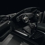 2011 Porsche Boxster S Black Edition Interior Doors open