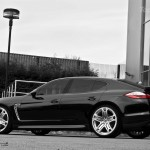 2011 Black Porsche Panamera RS600 Project Kahn Side view