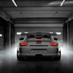 Limited 2011 Porsche 911 GT3 RS 4.0 Rear view