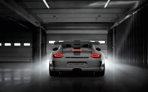 Limited 2011 Porsche 911 GT3 RS 4.0 Rear view