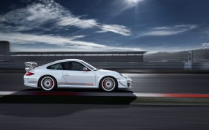 Limited 2011 Porsche 911 GT3 RS 4.0 Side view