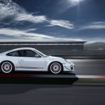 Limited White 2011 Porsche 911 GT3 RS 4.0 wallpaper Side view