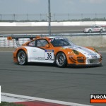 Porsche 911 GT3 R Hybrid 2_0 test Side angle view