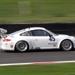 Porsche Carrera Cup Dunlop BTCC April 2011