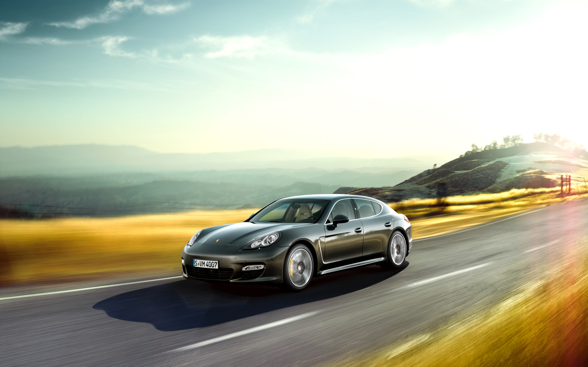 2011 Panamera Turbo S wallpapers