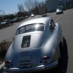 Vintage Porsche 356 A 1600 Rear view