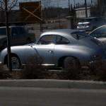 Vintage Porsche 356 A 1600 Side view
