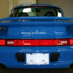 Jerry Seinfeld's 1997 Porsche 911 Turbo S Rear view