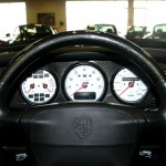 Jerry Seinfeld's 1997 Porsche 911 Turbo S Interior Dashboard
