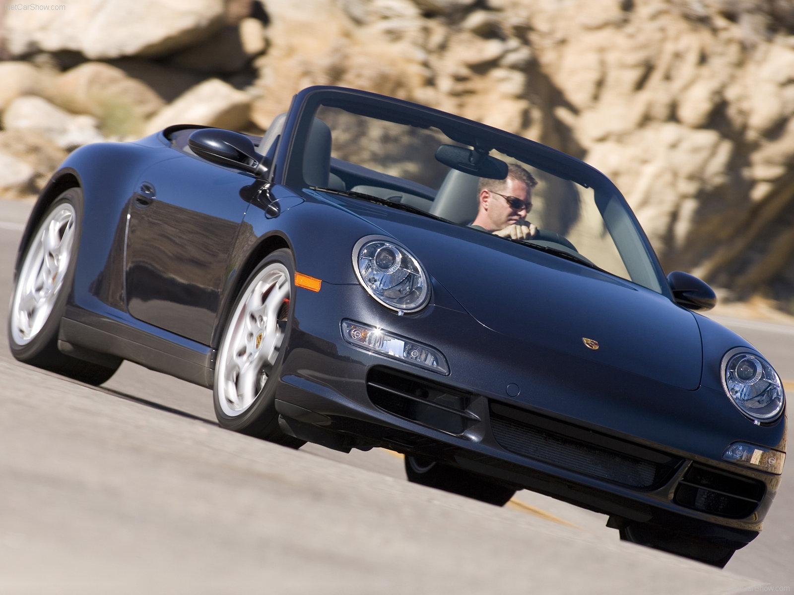 Porsche Cayenne Gts For Sale >> 2007 Black Porsche 911 Carrera 4S Cabriolet wallpapers