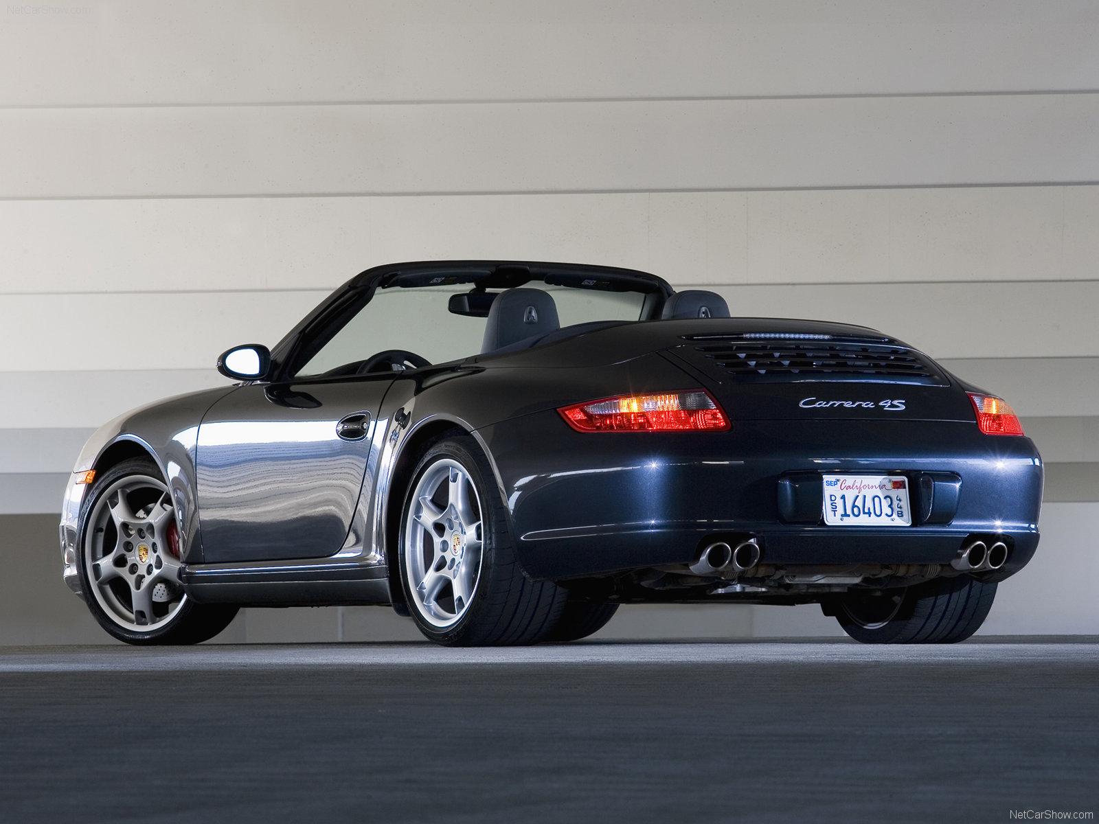 2007 black porsche 911 carrera 4s cabriolet wallpapers. Black Bedroom Furniture Sets. Home Design Ideas