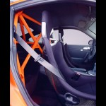 2007 Orange Porsche 911 GT3 RS Wallpaper Interior