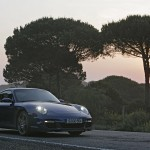 2007 Porsche 911 Turbo Wallpaper Front angle side view