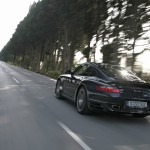 2007 Porsche 911 Turbo Wallpaper Rear angle view