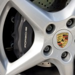 2007 Red Porsche 911 Carrera 4 Wallpaper Wheel