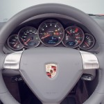 2007 Red Porsche 911 Targa 4 Wallpaper Interior Steering wheel