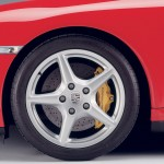 2007 Red Porsche 911 Targa 4 Wallpaper Side view Wheel