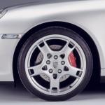 2007 Silver Porsche 911 Targa 4S Wallpaper Side view Wheel