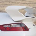 2007 White Porsche 911 GT3 Wallpaper Rear spoiler