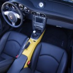 2007 Yellow Porsche 911 Turbo Wallpaper Interior