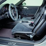 2008 Silver Porsche 911 GT2 Wallpaper Interior Seats