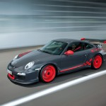 2010 Porsche 911 GT3 RS Wallpaper Side front angle view