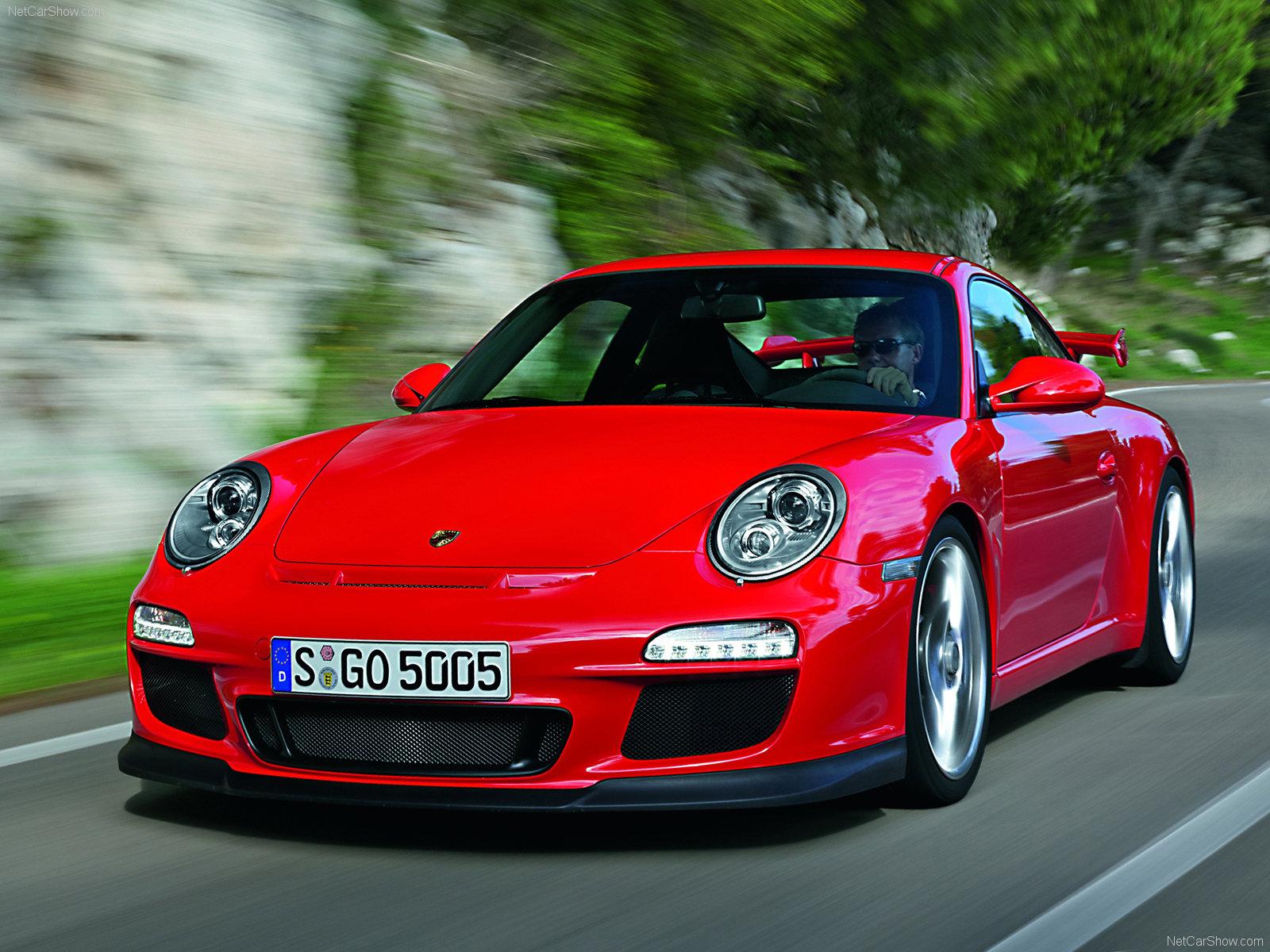 Sport Wallpaper Porsche 911: 2010 Red Porsche 911 GT3 Wallpapers