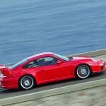2010 Red Porsche 911 GT3 Wallpaper Side view