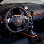 Electric Porsche Boxster E First drive Interior