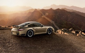 Limited Porsche 911 Turbo S China 10 Year Anniversary Edition Side view