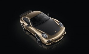 Limited Porsche 911 Turbo S China 10 Year Anniversary Edition Front angle top view