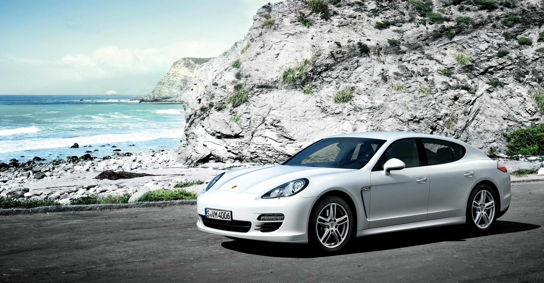 Porsche Panamera Lease >> 2011 White Porsche Panamera Diesel wallpapers