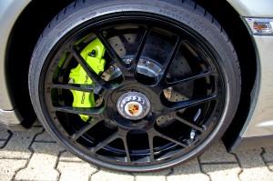 Limited edition: Porsche 911 Turbo S Edition 918 Spyder Wheel
