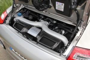Limited edition: Porsche 911 Turbo S Edition 918 Spyder Engine